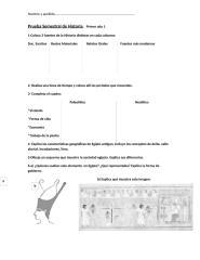 Prueba Semestral de Historia 2011    Primer año 1.docx