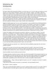 A HISTÓRIA DA UMBANDA.doc