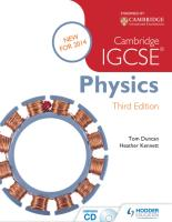 Cambridge IGCSE Physics - Duncan, Tom [SRG].pdf