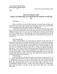 BC  Tham luan HN So ket 5 nam NQLT CA-DTN.doc