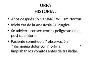 URPA y complicaciones en URPA.ppt