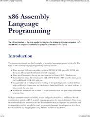 x86 Assembly Language Programming.pdf