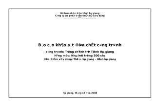 bao cao dia chat nha Hoi truong truong Chinh tri Tinh.doc