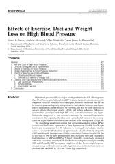 Effects of Exercise, Diet and Weight Loss on High Blood Pressure.pdf