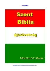Hungarian Holy Bible New Testament R S Chaves PDF.pdf
