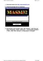 MASM32 CodeView Tutorial.pdf