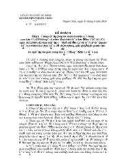 KH   Tuyen truyen 5 co 5 khong 2009.doc