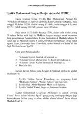 (wafat 1227h) syeikh muhammad arsyad banjar.pdf