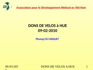 DONS VELOS ADM HUE 02-2010.ppt