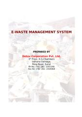 Report for E-waste Treatment.doc