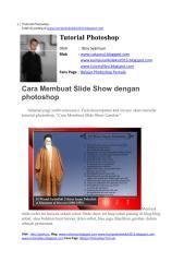 Cara Membuat Slide Show dengan photoshop.pdf