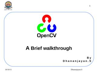 Overview of OpenCV.ppt