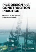 (Tomlinson, 2008, 5e) Pile Design and Construction Practice.pdf