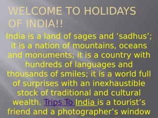 India Trips.pptx