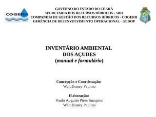 Inventário Ambiental - ficha de campo.ppt