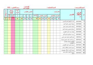 درجات عرب 202.doc