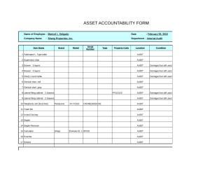Asset accountability form -Roselyn Santos.xls