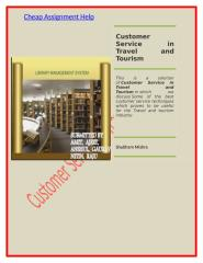 Customer Service in Travel and Tourism.docx
